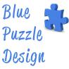 Blue Puzzle Design