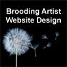 Brooding Artist Website Design logo