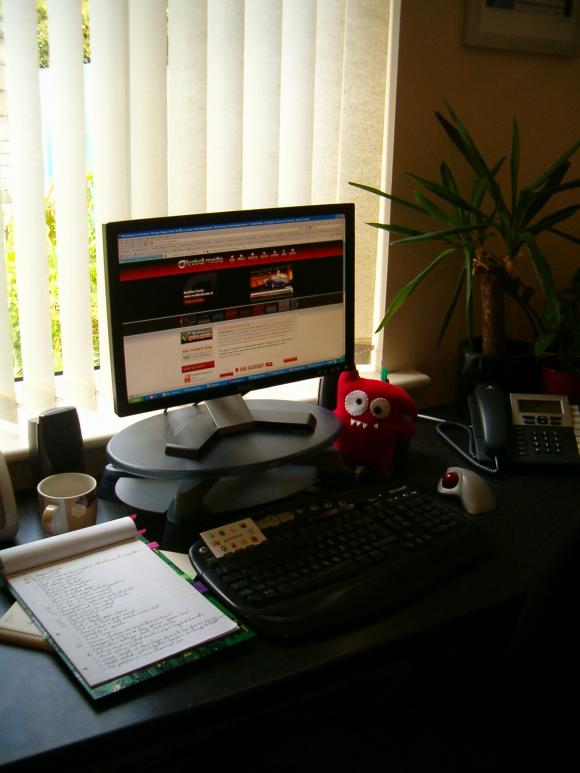 Ruth's desk