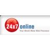 24x7online logo