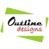outline designs logo
