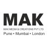 MAK Media and Creations logo