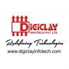 DigiClay InfOtech logo