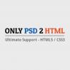 Only PSD 2 HTML logo