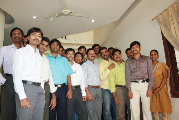 Team of over 30 members !!