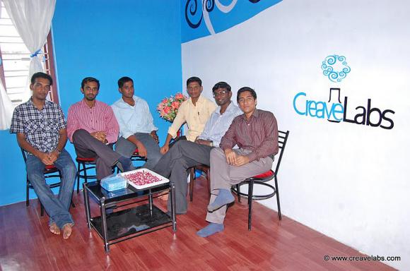 Staff at CreaveLabs Operating Office