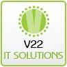 V22 IT Solutions logo