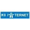 M8 INTERNET logo