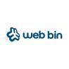 web bin website design logo