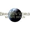 Brave New World Website Design logo