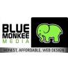 Blue monkee media logo