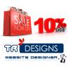 TRdesigns Web Designer logo