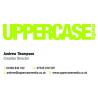 UPPERCASE media logo