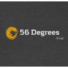 56 Degrees Design logo