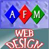 AFM Web Design logo
