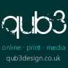 Qub3 Web Design logo