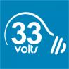 David Golding - 33volts logo