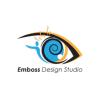 Emboss design studio logo