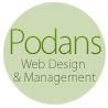 Podans Web Design logo