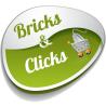 Bricks and Clicks logo
