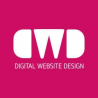 Digital website design logo