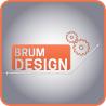BRUM DESIGN logo