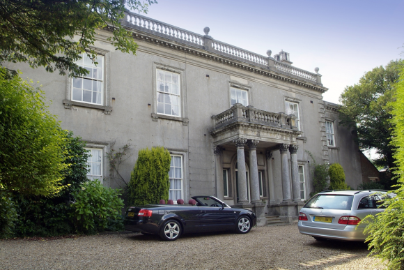 Located in the heart of Duston Village in Northampton. This Manor House has been half converted to offices.