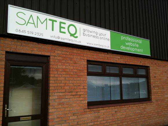 Samteq office, small but precious