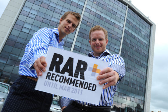 Two directors with our RAR Recommended Agency Award 2010/2011!