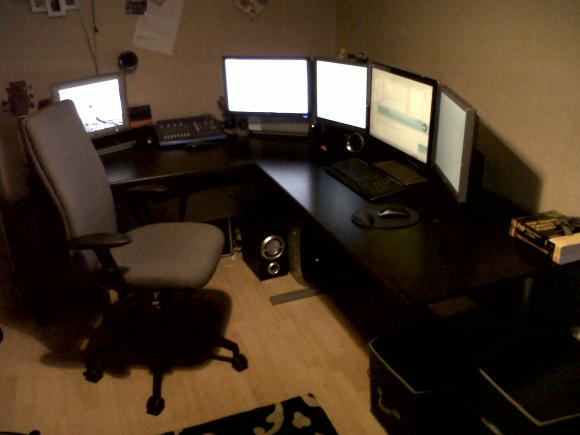 Multi Screen Workstation
