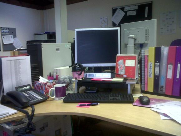 Rebecca's Desk