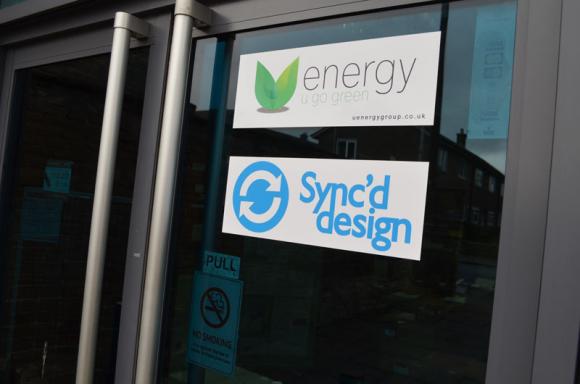 Welcome to Sync'd Design (front door)