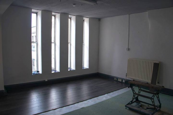 Dark floors, beautifully shiny!