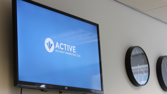 Inside the Active Internet Marketing (UK) office.