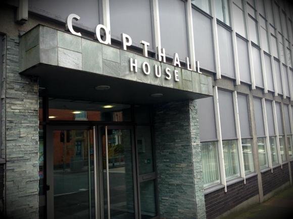Bwar HQ, Copthall house.