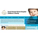 Great Ormond Street Hospital Children's Charity - Website redesign