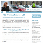 SSD Training Services Ltd