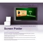 Screen Poster
