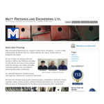 Matt Pressings and Engineering Limted