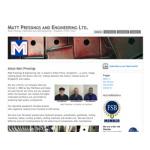 Matt Pressings and Engineering Limted