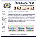 Padmayana Yoga School