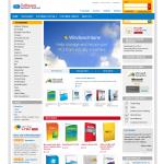 Magento Theme: Software Magento Template