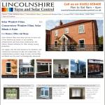 lincolnshire solar control
