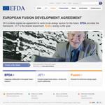 EFDA European Fusion Development Agreement