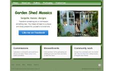 Garden Shed Mosaics