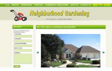 Neighborhood Gardening