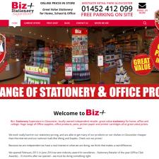 Biz+ Stationery