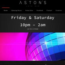 Aston's Late Bar