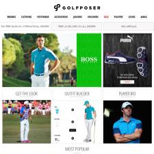 Golf Poser