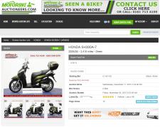 Motorbike Auctioneers